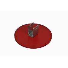 Safety base plate stanchion complete incl. profile